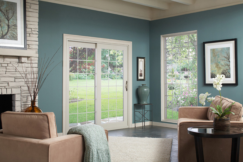 classic timeless appeal meets modern engineering in our traditional sliding patio door - Sliding French Doors Patio